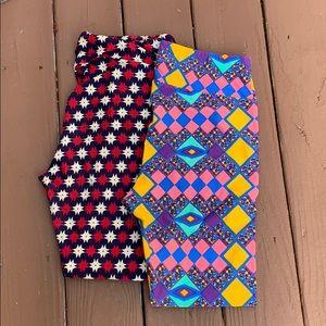 Set of 2 lula roe leggings